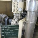 冷温水ポンプ2 圧力センサ取付<施工後>